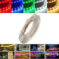 5м 17.5w водонепроницаемый IP67 SMD 3528 300 LED полоса свет каната рождественской вечеринки на открытом воздухе AC 220V