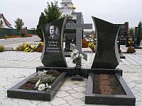Памятник с крестом на двоих № 003