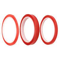 5м красный двухсторонний ремонт телефона экран ленты бумаги LCD сенсорный