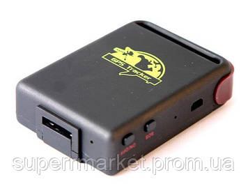 Персональный GPS трекер TK102B, GSM GPRS универсальный автономный маяк с кнопкой SOS  NEW