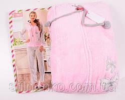 Женская теплая пижама,Турция,пушистая