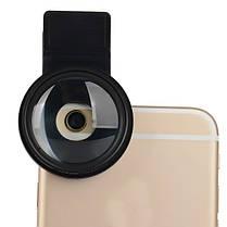 Zomei 37мм 12.5x закрыть телефон фильтра для объектива Iphone Huawei Samsung Xiaomi андроид ИОС с зажимом, фото 3