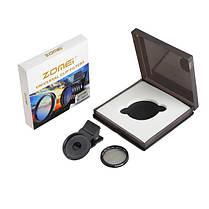Zomei 37мм профессиональная камера сотового телефона круговой поляризатор объектив CPL для iPhone Галактика Android смартфон Xiaomi Samsung HTC, фото 3