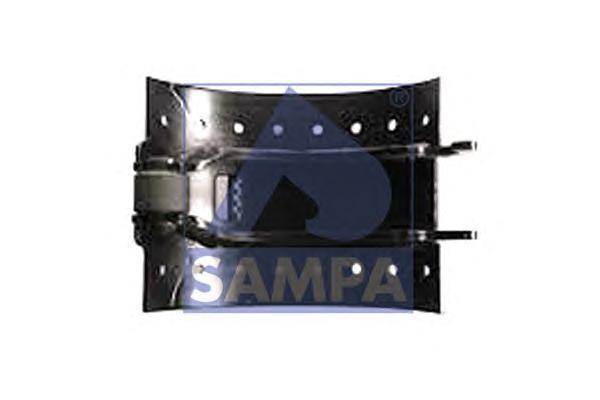 070.385   Колодка гальмівного барабана BPW 300x200 мм (в-во SAMPA)