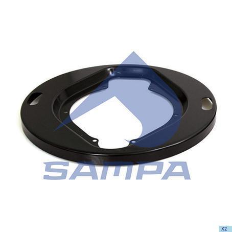 040.127 | Пильник барабана гальмівного 241x449x28 на колесо SCANIA (в-во SAMPA)