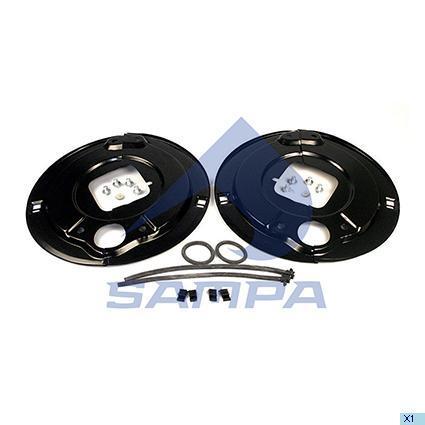 070.521 | Пильник барабана гальмівного BPW на вісь (в-во SAMPA)