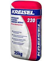 Клей для приклейки и армировки пенополистирола Kreisel 220 (25 кг)