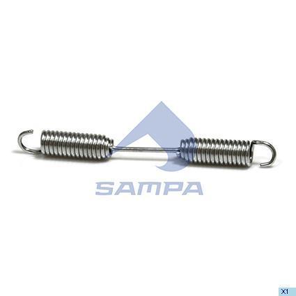 Пружина колодки гальм. 24,5х235 BPW (в-во SAMPA)