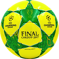 Мяч футбольный Final Cardiff 2017 Жел./Зел.