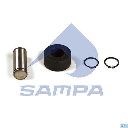 Р/к-кт колодки гальмівного барабана (в-во SAMPA)