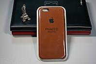 Чехол (накладка) Apple iPhone 6/6s, Original Silicon Case цвет brown (коричневый)