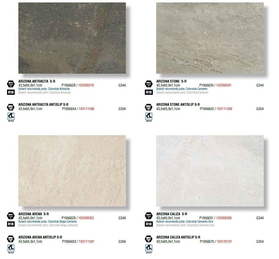Керамическая плитка Porcelanosa Factory/Natal/Arizona/Tibet 43,5x65,9