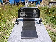Памятник на двоих с надгробной плитой № 007