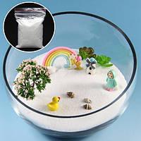 80g DIY Micro Landscape White Sand Decoration Сад Суккулентные растения Цветочный горшок