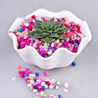 80g DIY Micro Landscape Colroful Stone Decoration Сад Суккулентные растения Цветочный горшок Декор
