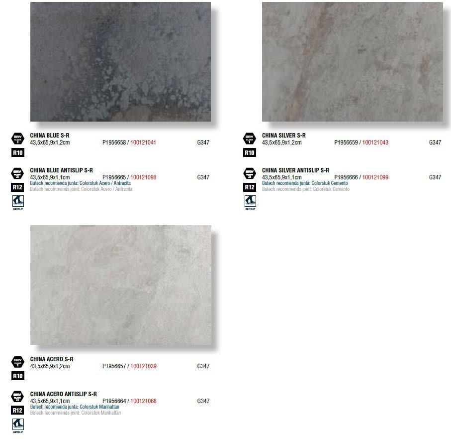 Керамическая плитка Porcelanosa China 43,5x65,9