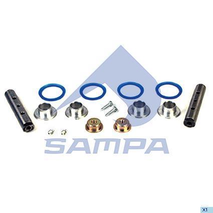 050.512/A | Р/к-кт стабілізатора кабіни DAF XF95,105 (в-во SAMPA)