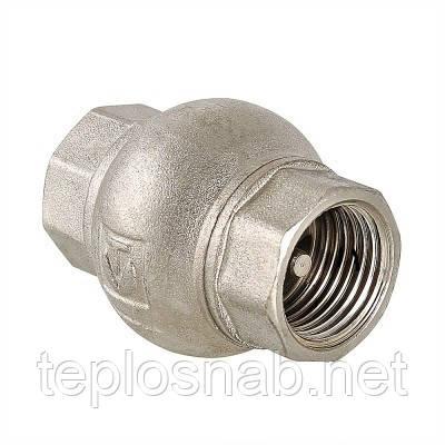 """Обратный клапан 1"""" Valtec с латунным золотником"""