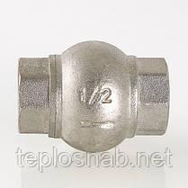"""Обратный клапан 1"""" Valtec с латунным золотником, фото 3"""