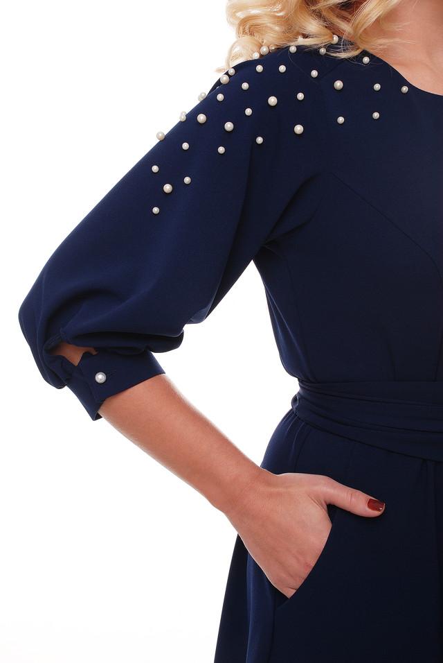 7d7a18e0a5e Вечернее Платье Вивьен Темно-синее — в Категории