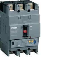 Автоматический выключатель h250, In = 125А, 3п, 70kA, LSI