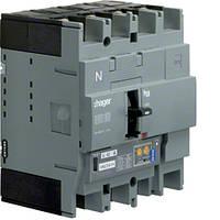 Автоматический выключатель h250, In = 250А, 4п, 50kA, LSI