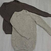 Мега Новинка сезона осень-зима! Тёплый вязаный свитер с жемчугом!