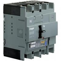 Автоматический выключатель h250, In = 125А, 4п, 70kA, LSI