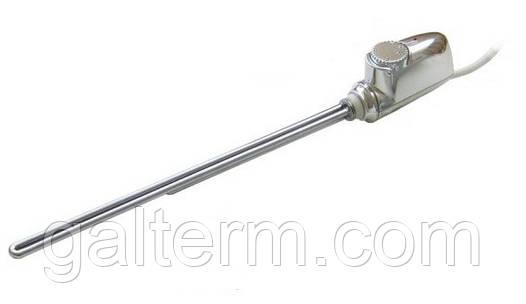 Тен електричний з термостатом Heatpol 3GM 0,6 (600Вт, хром)