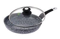Сковорода с крышкой Edenberg, 20 см, фото 1