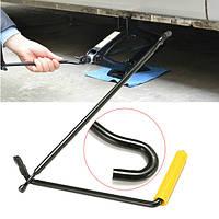Сталь ножничные рукоятка домкрата кривошипно автоинструмент ван гаражный колесо колесного ключа