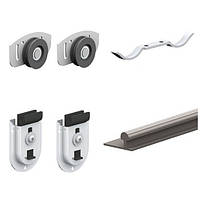 Комплект роликов для одной двери шкафа-купе Valcomp ARES 2