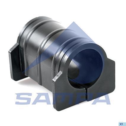 Втулка стабілізатора 45x66 VOLVO FH12, FH16 передн. внутр. (в-во SAMPA)