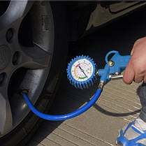 Колесо шина инструмент мониторинга тестер измеритель манометр давления воздуха в шинах автомобиля 0-16BAR 0-220psi, фото 2