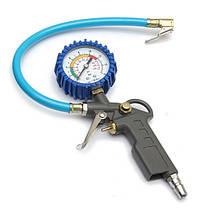 Колесо шина инструмент мониторинга тестер измеритель манометр давления воздуха в шинах автомобиля 0-16BAR 0-220psi, фото 3