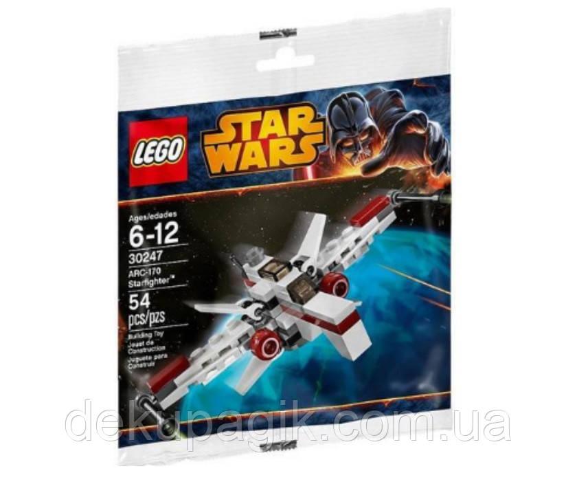Lego Star Wars RC-170 Starfighter (минимодель) 30247