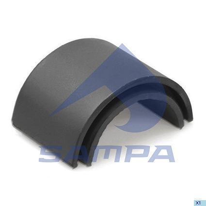 060.121   Піввтулка 66х92х60х65 стабілізатора IVECO Stralis (в-во SAMPA)