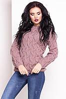 Теплый женский свитер LALO (капучино)