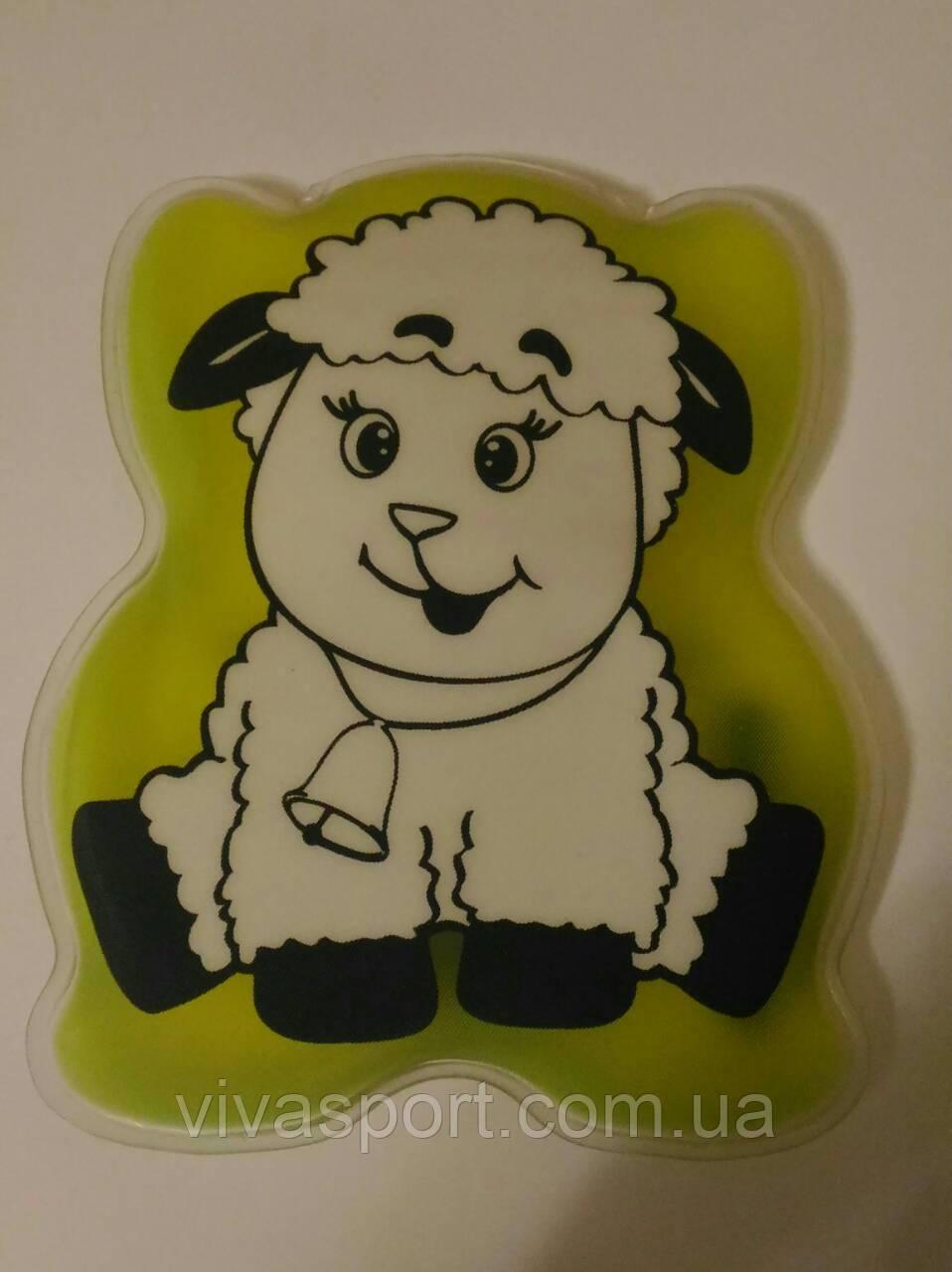 """Детский аппликатор """"Овечка"""", солевая грелка овечка"""