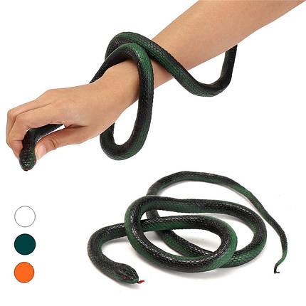120см мягкая резиновая змея игрушка откровенны мешок партии наполнителями хэллоуин шутка трюк проп, фото 2