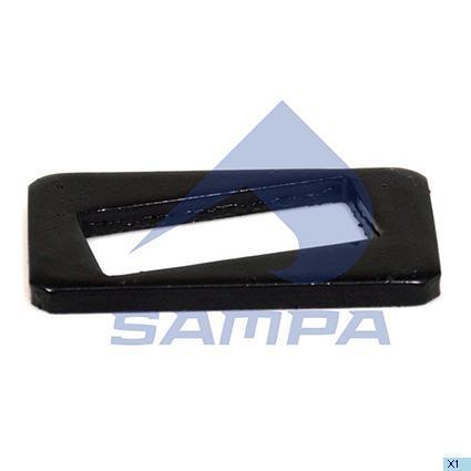 114.290   Пластина 31x57,5x103,5x8 регулювальна BPW (в-во SAMPA)