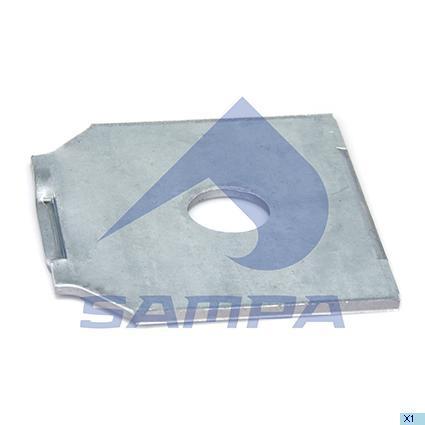 114.291   Пластина регулювальна BPW (в-во SAMPA)