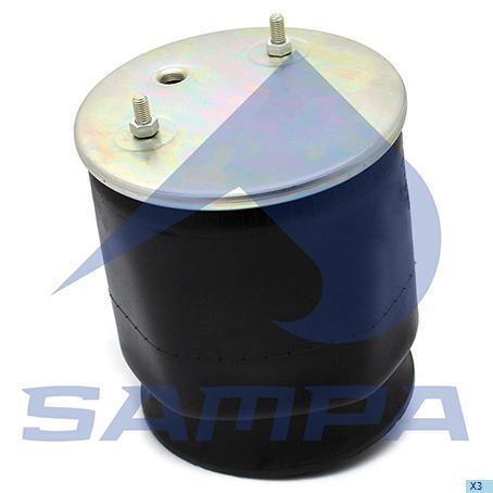 SP 552626-KP | Пневморесора 2626V з склянкою (пластик) SAF (в-во SAMPA)
