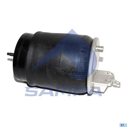 SP 557804-K | Пневморесора 6606 N P01 з склянкою (сталь) VOLVO (в-во SAMPA)