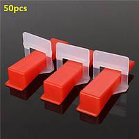 50шт керамическая плитка плиточные доступность распорные зажимы/клинья пластиковые