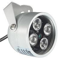 Инфракрасного ночного видения для Камер наблюдения IR LED Свет подсветки Видеодомофон IR hobovisin 4 массив Видеодомофон