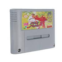 Финальный бой 2 16 бит действие игры картридж евро версия английский язык для ПФС SNES PAL / NTSC системы