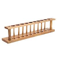 21мм деревянный лабораторный Пробирка стойки 10 отверстий