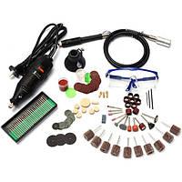 230V AC Электрический роторный Инструмент с гибким валом Инструмент Набор и 105шт. Аксессуары