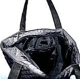 Женские стеганные сумки с передней змейкой (4 цвета ОДНОТОННЫЙ)29*32см, фото 3